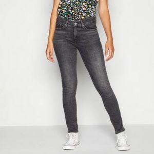 Levi's Low Rise Skinny Jeans Dark Grey